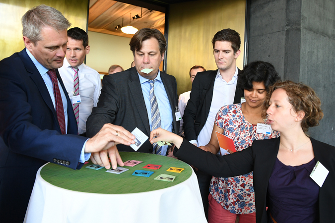 05.07.2016; Rueschlikon; Swiss Re; 1st Catastrophe Knowledge Exchange - Are natcat models ready for 2020:  . © Valeriano Di Domenico